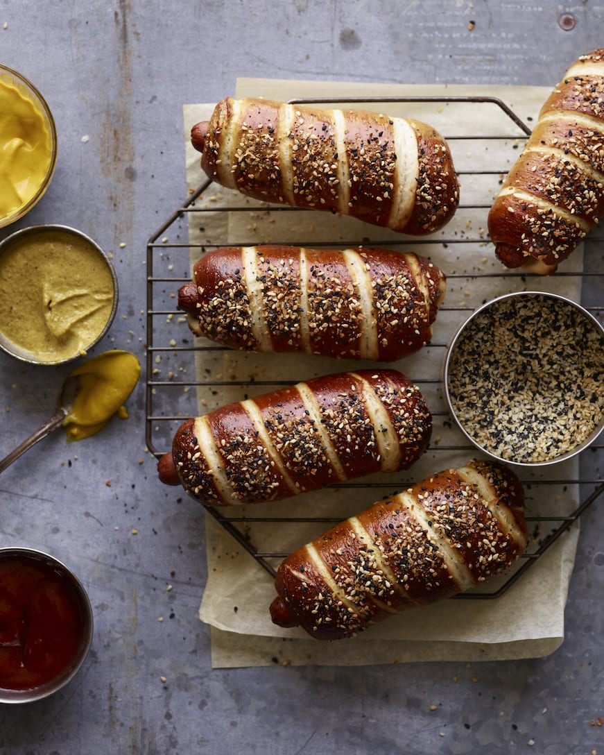 EVERYTHING Pretzel Dogs from www.whatsgabycooking.com (@whatsgabycookin)