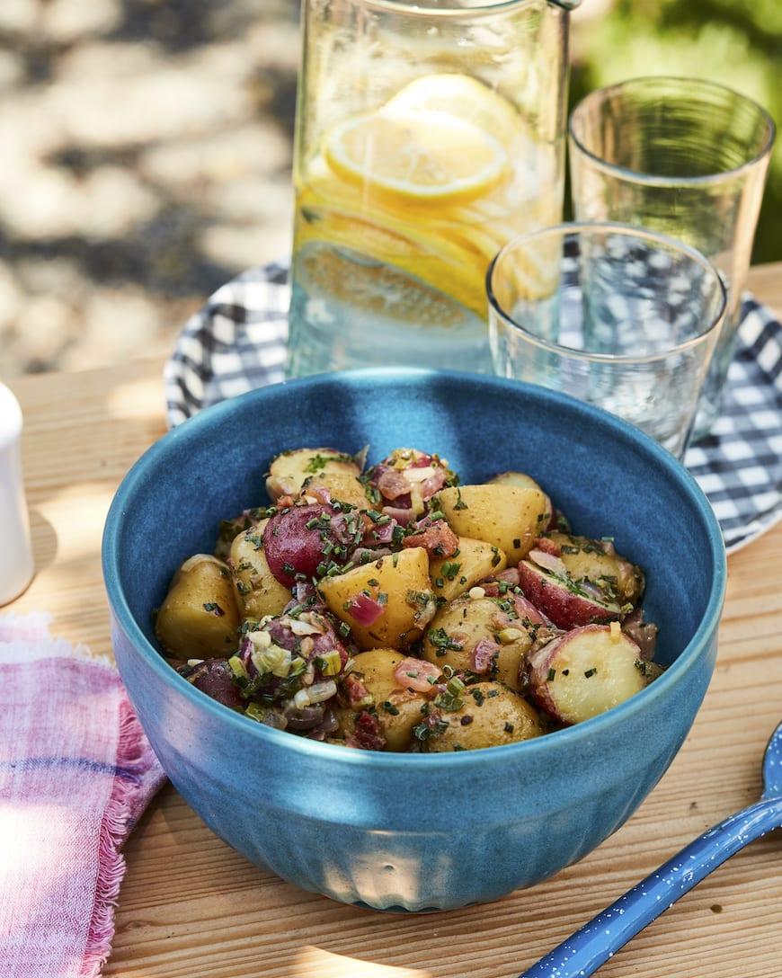 German Potato Salad from www.whatsgabycooking.com (@whatsgabycookin)