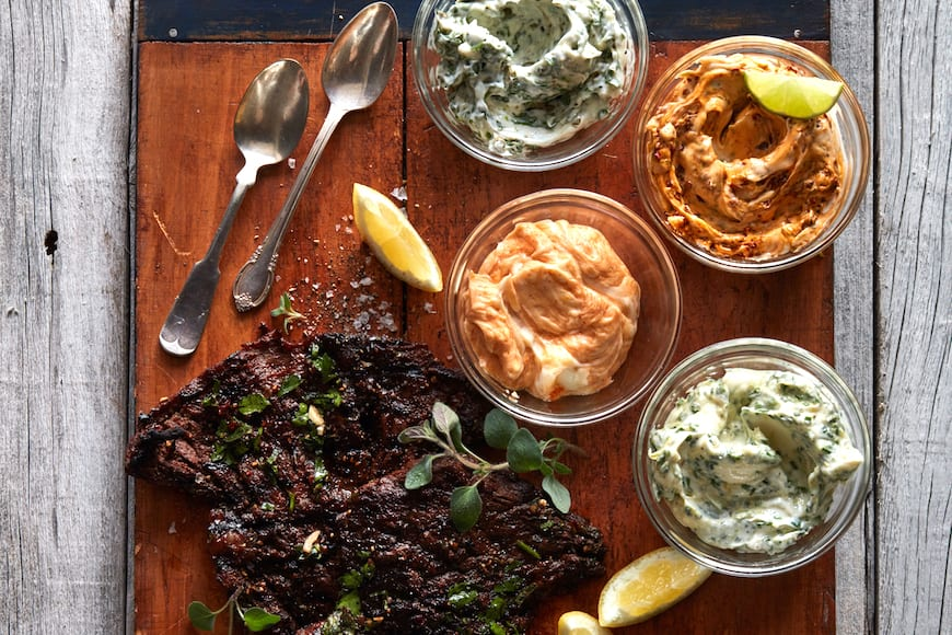 Compound Butters 101 (and a recipe for the perfect steak)