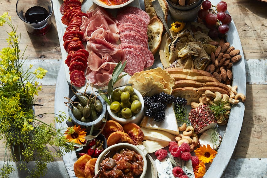 Summer Charcuterie Snack Board