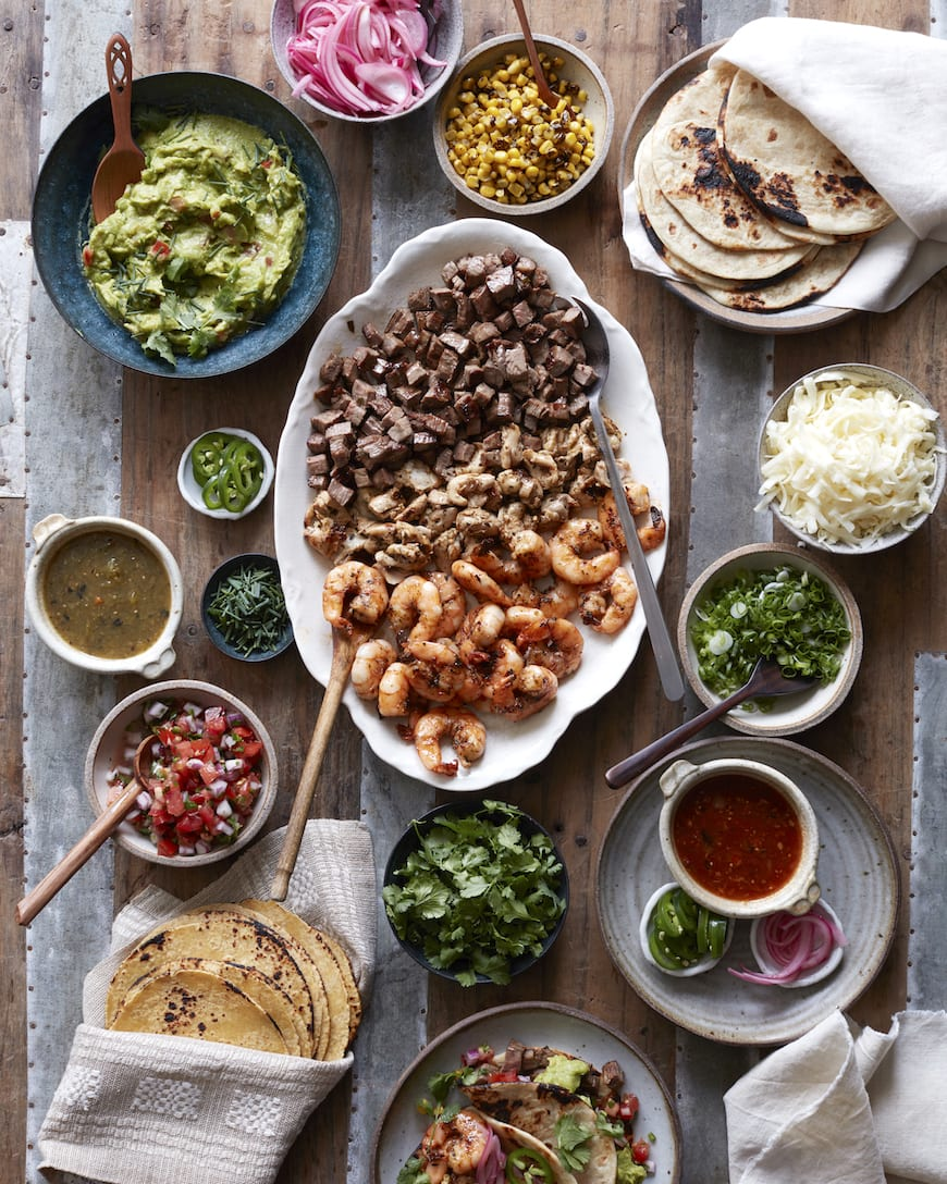 57a61f570c0a Family Style Taco Bar from www.whatsgabycooking.com ( whatsgabycookin)