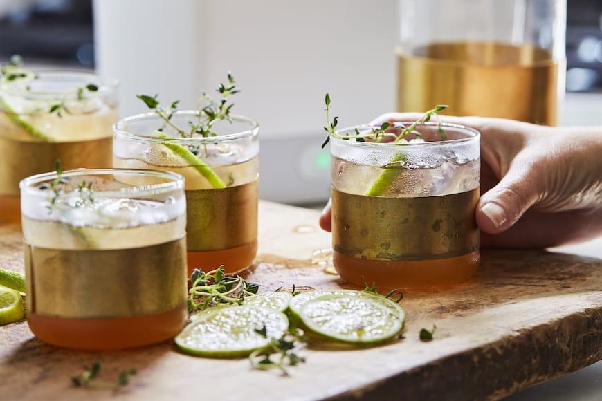 Thyme Apple Cider Spritz