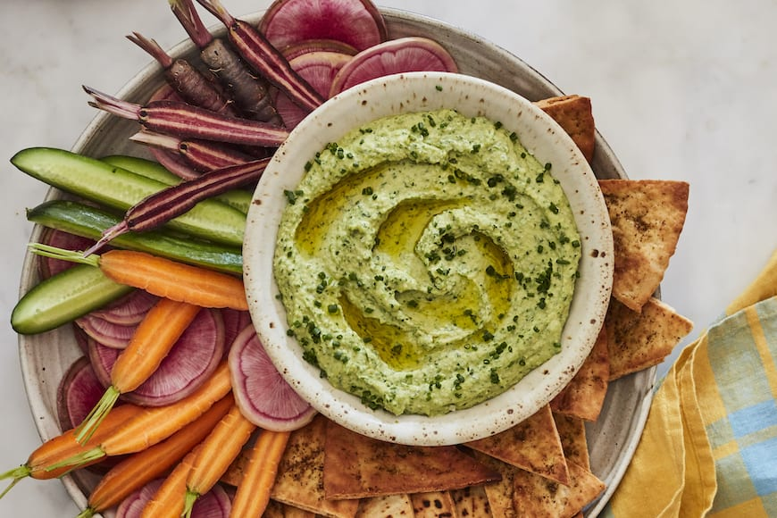 Green Goddess Hummus
