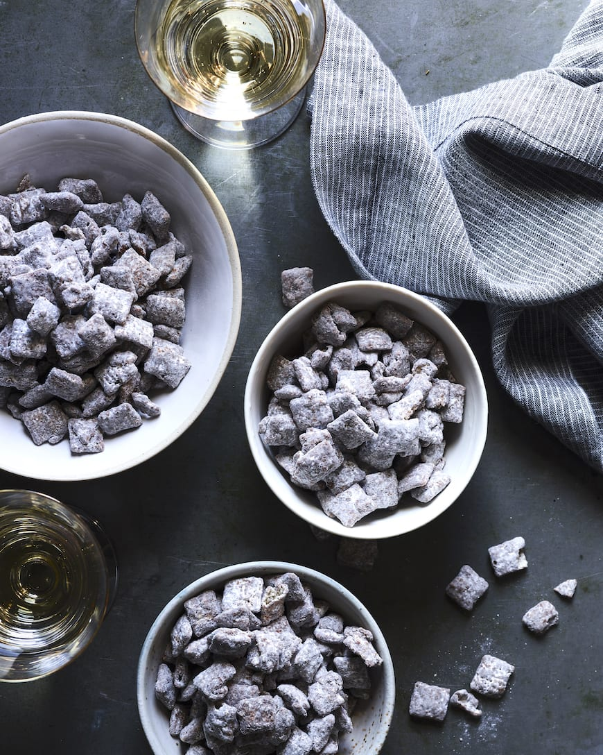 Double Dark Chocolate Muddy Buddies from www.whatsgabycooking.com (@whatsgabycookin)