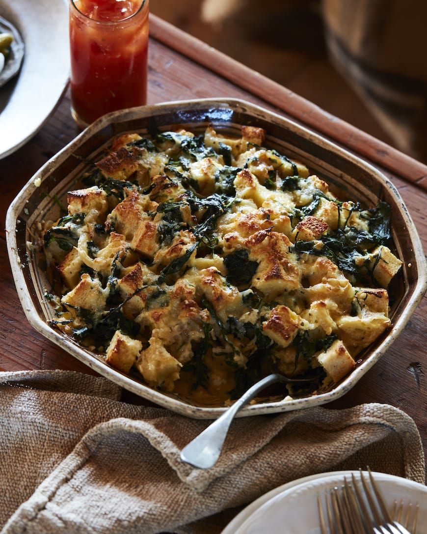 Winter BrunSpinach Cheese Strata from www.whatsgabycooking.com (@whatsgabycookin)ch Menu from www.whatsgabycooking.com (@whatsgabycookin)