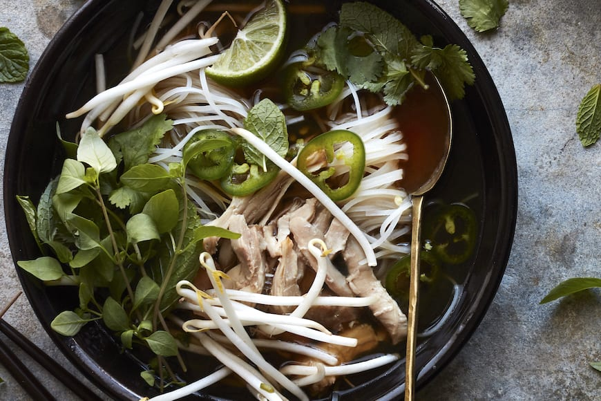 Instant Pot Loaded Chicken Pho from www.whatsgabycooking.com (@whatsgabycookin)