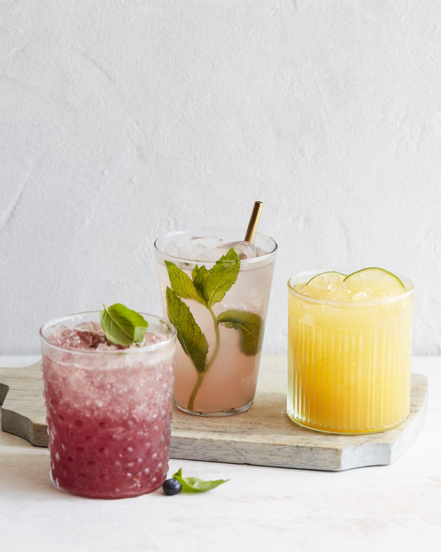 Coconut Water Cocktails from www.whatsgabycooking.com (@whatsgabycookin)