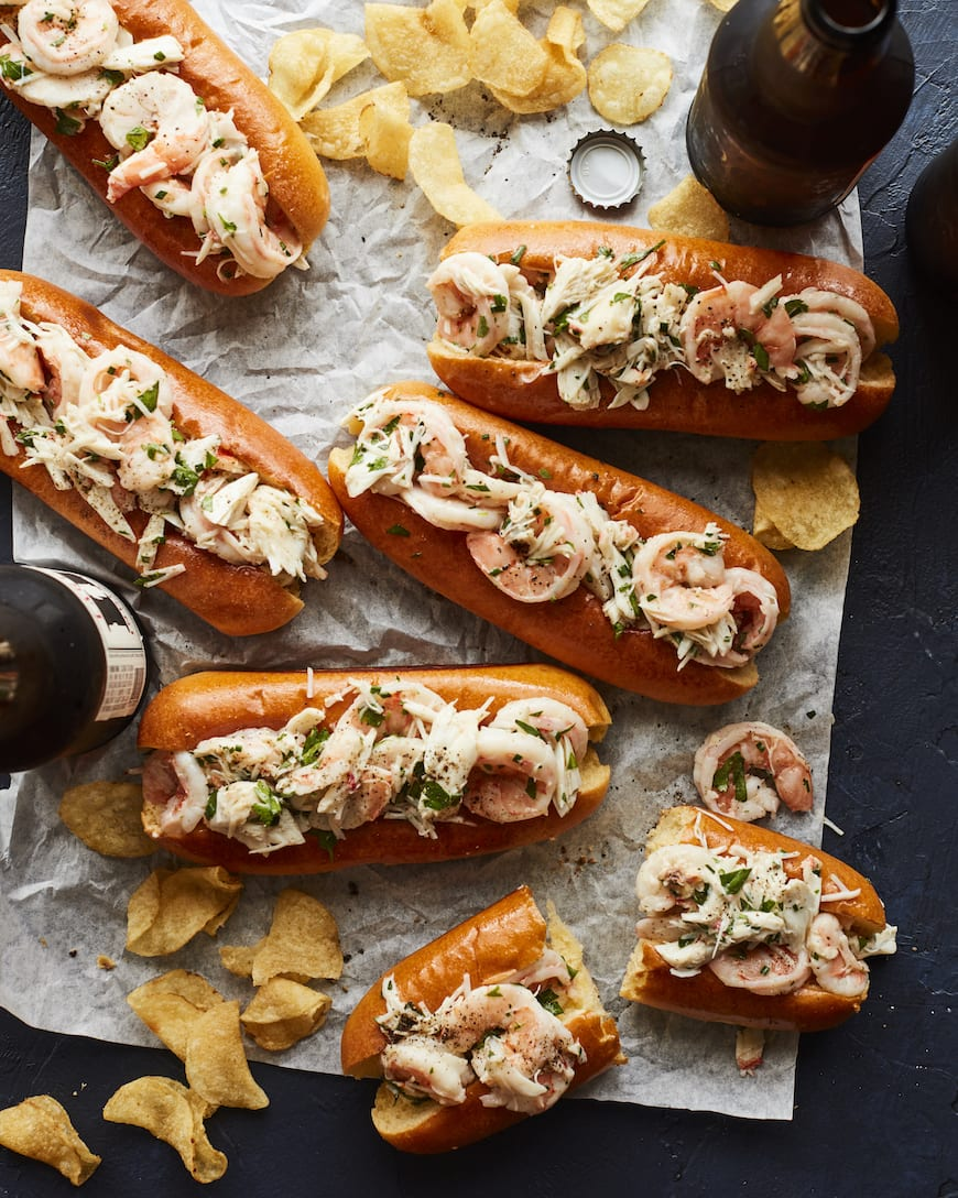 Seafood Rolls from www.whatsgabycooking.com (@whatsgabycookin)