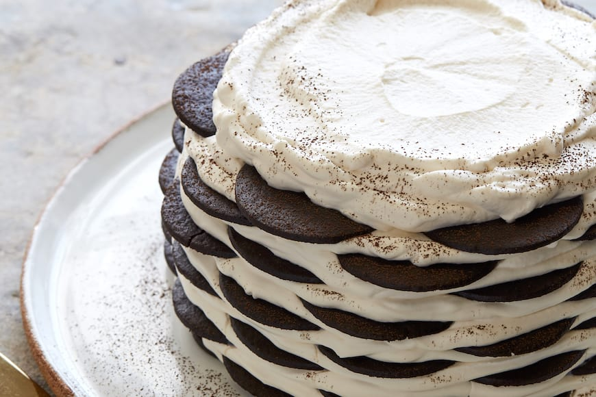 Chocolate Icebox Cake from www.whatsgabycooking.com (@whatsgabycookin)