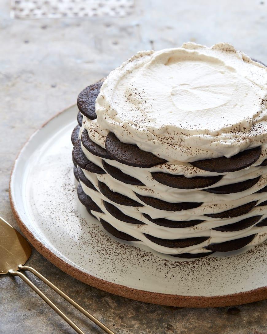 Chocolate Icebox Cake from www.whatsgabycooking.com (@whatsgabycookin)