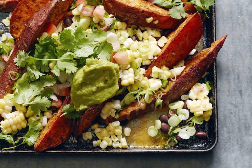 Eggplant Chips with Cilantro Pesto