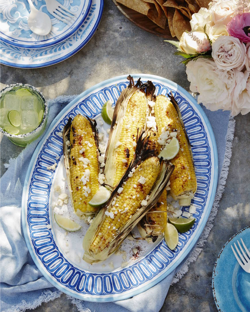 The ultimate menu for a West Coast Cantina Grilled Corn from www.whatsgabycooking.com (@whatsgabycookin)