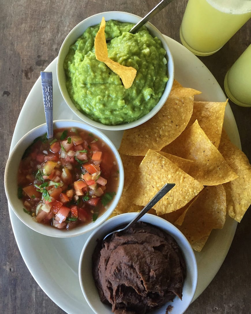 Costa Rica Typical Lunch