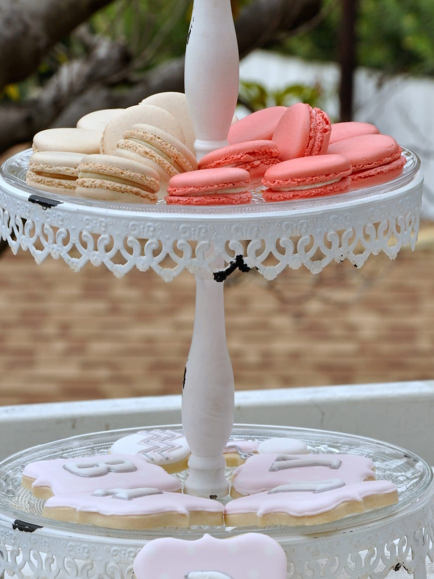 Baby Shower Menu from www.whatsgabycooking.com French Macaroons (@whatsgabycookin)