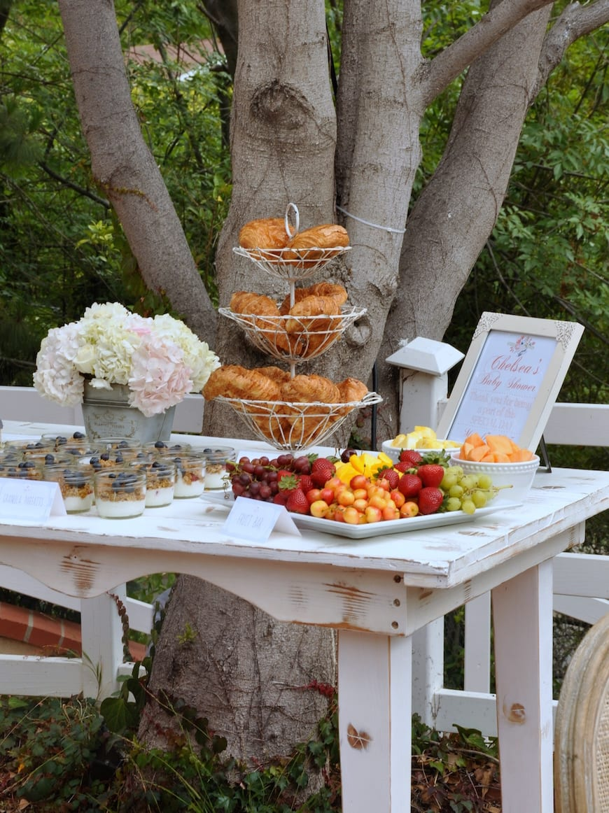Outdoor Baby Shower Ideas For A Girl