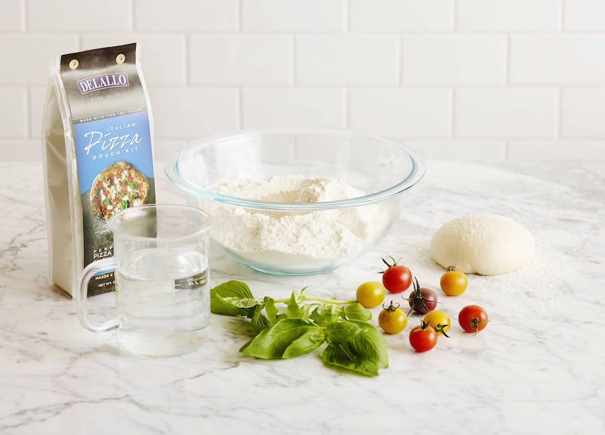 Delallo Pizza Dough Made Easy