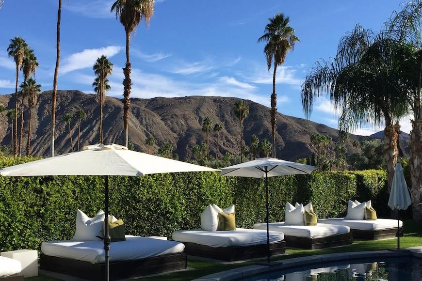 Gaby's Guide to Palm Springs : Villa Rental..PG