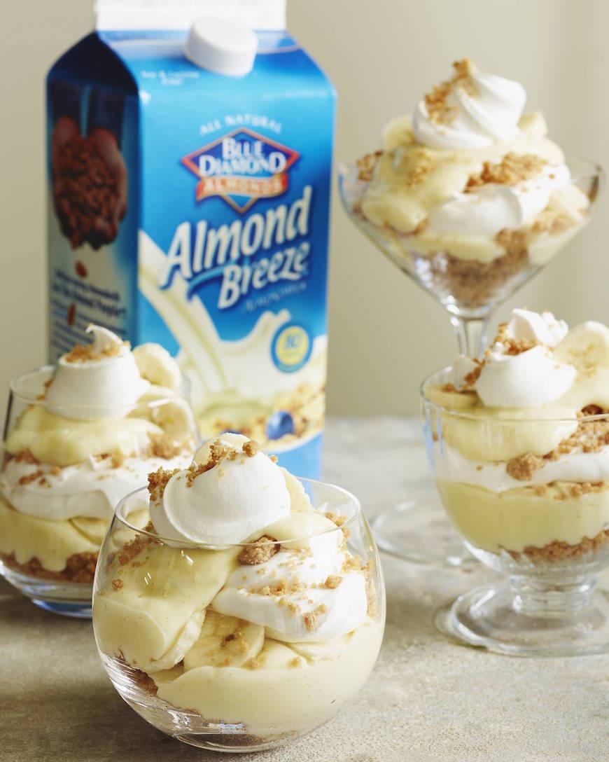 Banana Cream Pie Parfaits from www.whatsgabycooking.com (@whatsgabycookin)