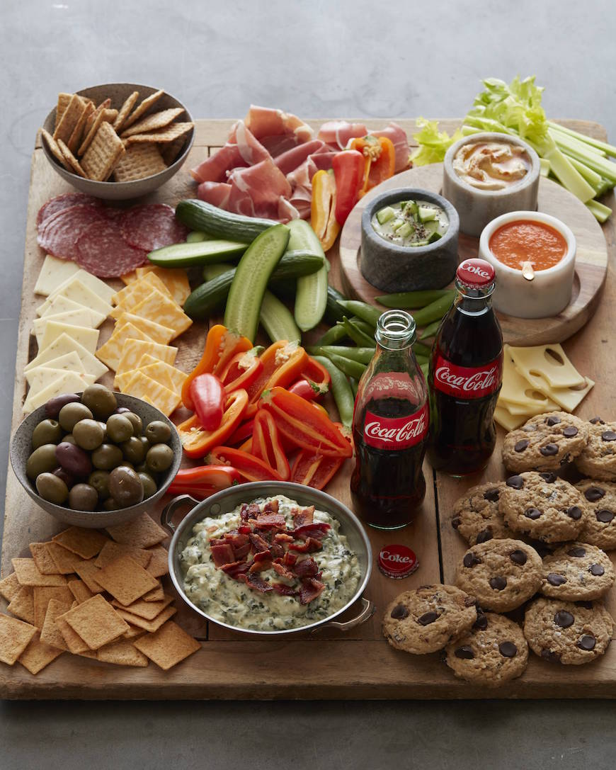 Salty and Sweet Snack Board from www.whatsgabycooking.com (@whatsgabycookin)