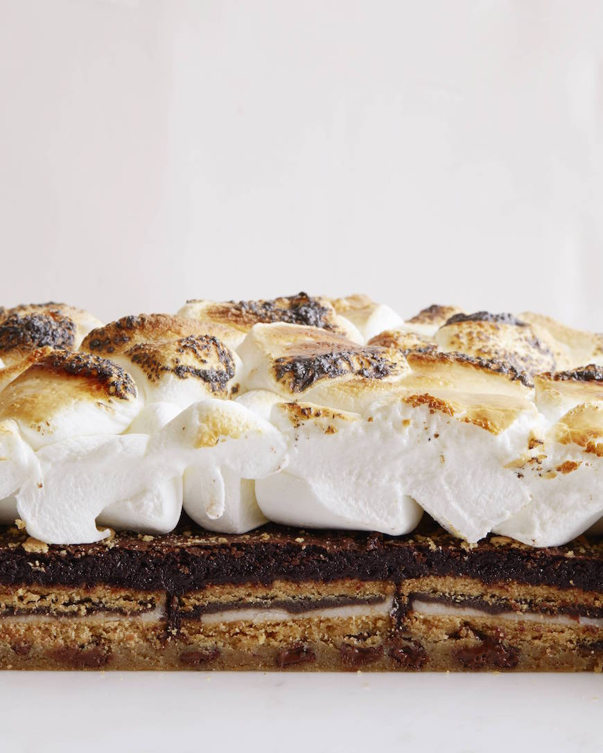 S'more Slutty Brownies from www.whatsgabycooking.com - the most sinful treat you could imagine (@whatsgabycookin)
