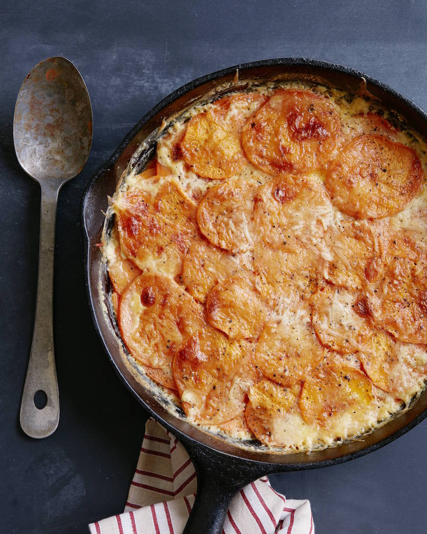 Sweetpotato Gratin from www.whatsgabycooking.com (@whatsgabycookin)