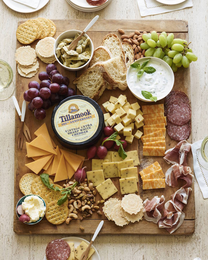 Spring Cheese Board - What's Gaby Cooking