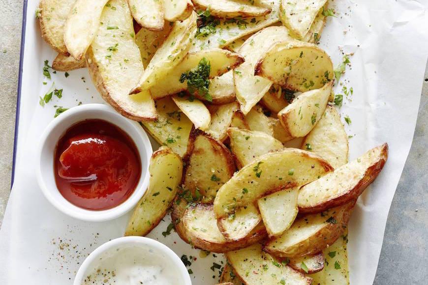 大蒜楔薯条