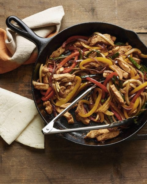 Chicken poblano fajitas from the for What should i make for dinner with chicken