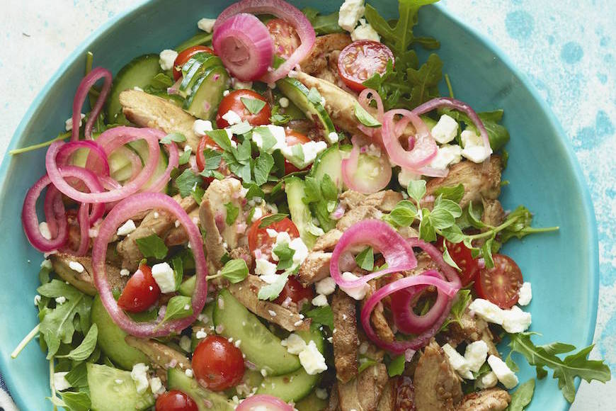Greek Chicken Salad
