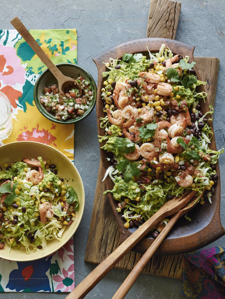 16 Healthy Recipes to kick start 2015 / Mexican Cobb Salad from www.whatsgabycooking.com (@whatsgabycookin)