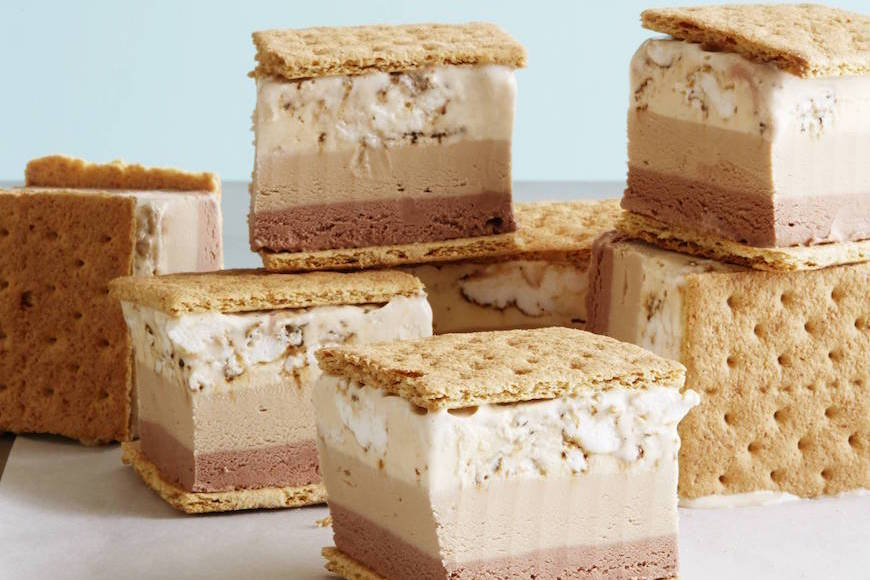 S'more Ice Cream Sandwiches