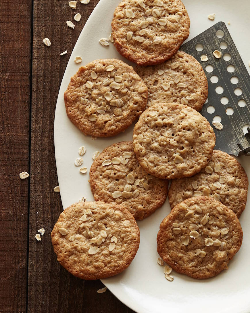 Peanut Butter Oatmeal Cookies from www.whatsgabycooking.com (@whatsgabycookin)