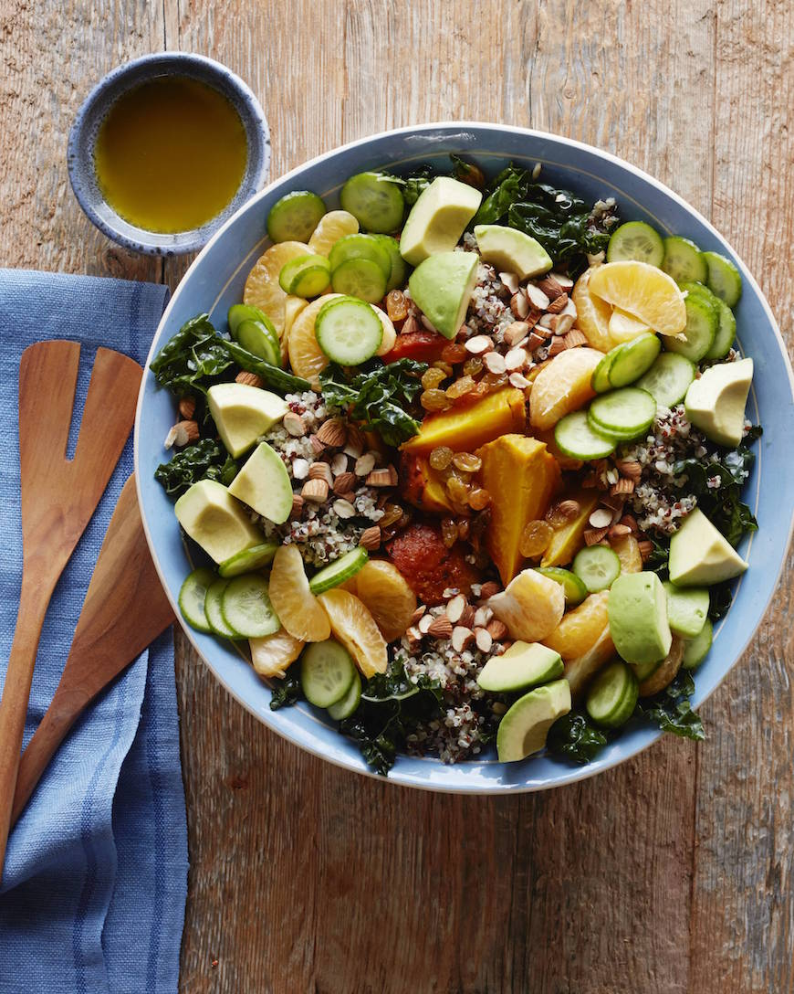 Superfood Salad from www.whatsgabycooking.com (@whatsgabycookin)